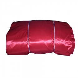 6 Meter Chandni - 62 Inch Panna - Red Color - Heavy Cloth.