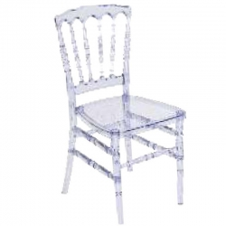 Executive Premium Zaveri Chair / Banquet Chair - Decorative Chair - White Color.