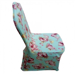 3-D Printed Spandex Chair Covers Wedding Universal Fit Size - Printed Cover