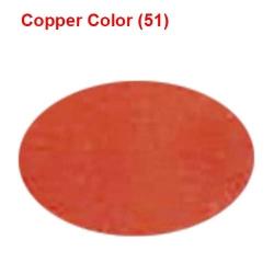 Galaxy Cloth - Chunri Cloth - Event Cloth - 46 inch Panna - Copper Color