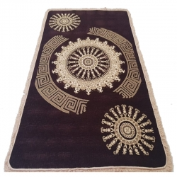 Chenille Carpet (10Ft X 15Ft)For Banquet Hall / Outdoor Stage and Entry Gate / Brown Color.