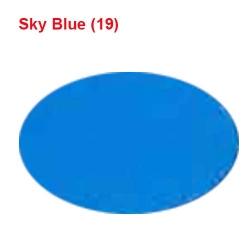 Galaxy Cloth - Chunri Cloth - Event Cloth - 46 inch Panna - Sky Blue Color