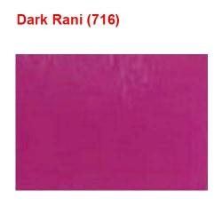 10 KG Taiwan - 60 Inch Panna Length - Dark Rani Color - Mill Quality