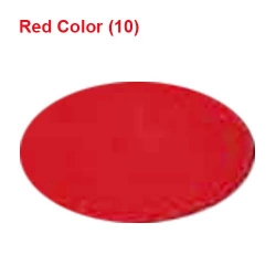 Chandni / 62 Inch Panna / Red Color / Heavy Cloth.