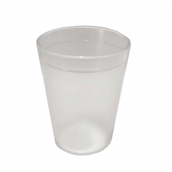 4 Inch - Acrylic Glass - Drinking Glass - Serving Glass - Transparent