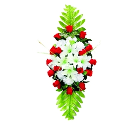 Plastic Flowers Bouquet for Party / Wedding / Office Decoration .