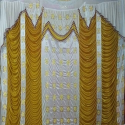 Mandap Stage Parda / Side Wall Parda For Wedding Function .