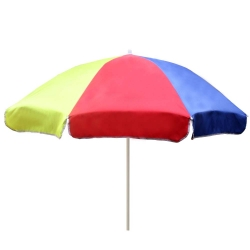 6 FT - Muticolor - Garden Umbrella - Umbrella - Chatri - Parasol - Garden Parasol - Outdoor Umbrella - Made Of Polyester Material