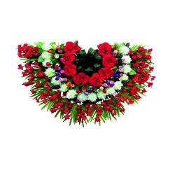 1.5 FT X 2 FT - Artifical Plastic Flower Bouquet - Flower Decoration - Multi Color
