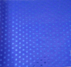 Royal  Square Bharchak  / Ton to Ton  / 24 Gauge Brite Lycra / 54  Inch Panna /  Square Tikli Work / Nevy Blue Color .