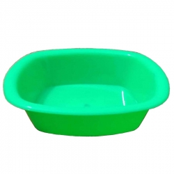 4 Inch Bowl - Dahi Bhalla Bowl - Made From Regular Plastic - Green Color