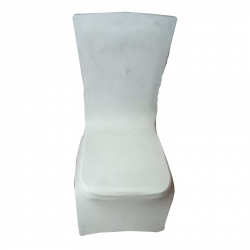 Spandex Chair Covers - Wedding Universal Fit Size - White Color