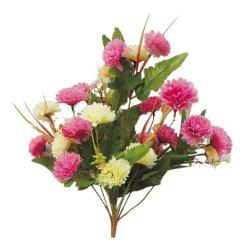 10 Inch - Artificial Plastic Flower Bunches - Flower Decoration - Multi Color