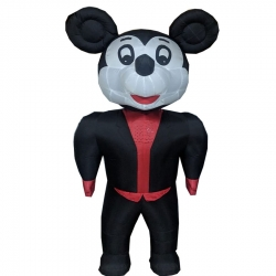 Multi Color - Micky - Inflatable - Micky - Air blown Inflatable - Made of PVC Vinyl comes with a Blower Machine