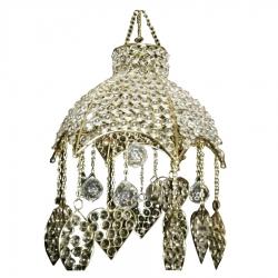 12 inch Crystal Heart Hanger / Decorative Jhumar Wedding & Reception .