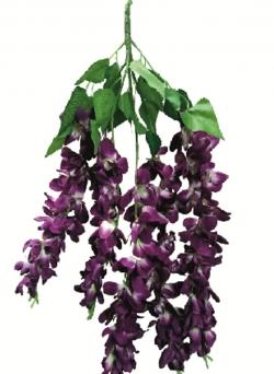 2 FT - Plastic Artificial Flower - Lout Con - Flower Decoration - Purple Color