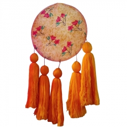 2 FT - Wall Hanging Jhumar - Hanging Jhumar - Orange Color
