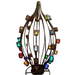 4 Feet Hanging Lamp / Candle Stand Egg Design / Wedding & Reception Decorative Lamp .