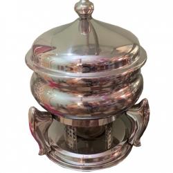 7 LTR - Chafing Dish - Hot Pot Dish - Garam Set - Buffet Set - Made of Stainless Steel - Weight ( 4 KG)
