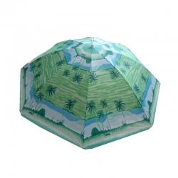 6 FT - Muticolor - Garden Umbrella - Umbrella - Chatri - Parasol - Garden Parasol - Outdoor Umbrella - Made Of Polyester Material