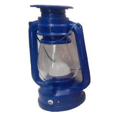 Lateran 8 Inch - Decorative Lanterns - Hanging Lanterns - Khandil - Made Of Plastic. Blue Color.