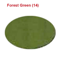 6 Meter Chandni - 62 Inch Panna - Forest Green Color - Heavy Cloth.