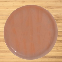 12 Inches Dinner Plates Made Of Food-Grade Virgin Plastic - Orange Color.