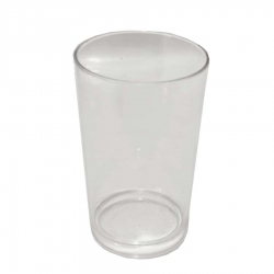4.6 Inch - Acrylic Glass - Drinking Glass - Serving Glass - Transparent