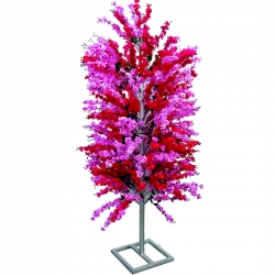 7 FT - Artificial Flower Tree - Flower Plant with Stand - Flower Decoration - Pink Color