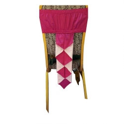 Decorative Chair Cover Bow For Wedding Function - Pink Color.