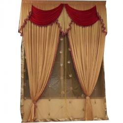 Mandap Stage Parda - Side Wall Parda For Wedding Function .