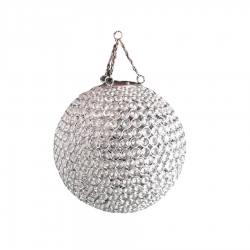 12 Inch Wall Hanging Decoration Crystal Ball For Wedding & Reception .