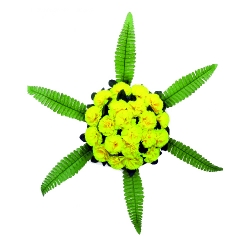 Plastic Flowers Bouquet for Party / Wedding /  Office Decoration