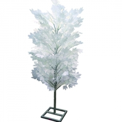7 FT - Artificial Flower Tree - Flower Plant with Stand - Flower Decoration - White Color