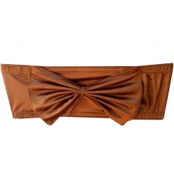 Chair Cover Bow - Fancy Chair Bow - Brown Color