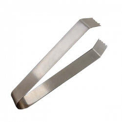 Tong - Ice Tong - Chapati Chimta - Kitchen Cooking Tool - Made of Stainless Steel