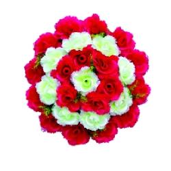 Plastic Flowers Bouquet For Party / Wedding / Office Decoration .