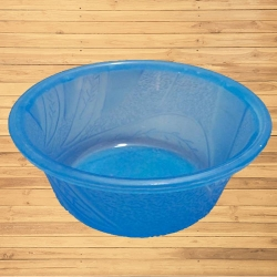 3.5 Inch Itching Round Bowl - Wati - Katori - Curry Bowls Made Of Food Grade Virgin Plastic - Blue Color
