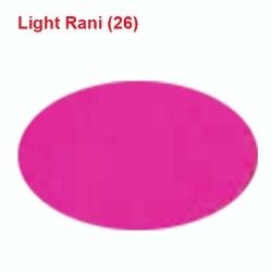 28 Gauge - BRITE LYCRA - 54 Inch Panna - Event Cloth - Light Rani Color