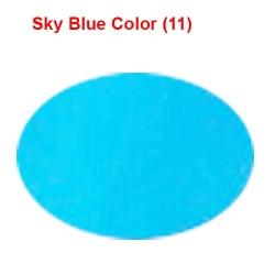 6 Meter Chandni - 62 Inch Panna - Sky Blue Color - Heavy Cloth.