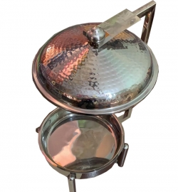 7 LTR - Chafing Dish - Hot Pot Dish - Garam Set - Buffet Set - Made of Stainless Steel - Weight ( 4.8 KG)