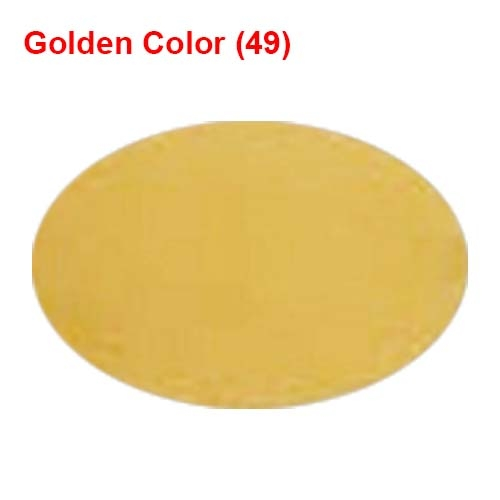 6 Meter Chandni - 62 Inch Panna - Golden Color - Heavy Cloth.