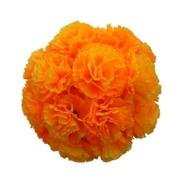 12 Inch - Artificial Plastic Hanging Flower Ball - Flower Decoration - Orange Color