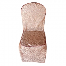 Jeckard Material Chair Cover Very Heavy Quality - Golden Color.