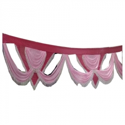 Multi Color - Jhalar - Mandap Jhalar For Wedding & Party - Made of Satin Cloth