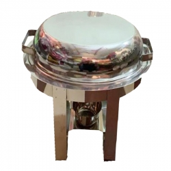 Chafing Dish / 4 Ltr / Garam Set / Hot Pot Dish / Made Of Stainless Steel.