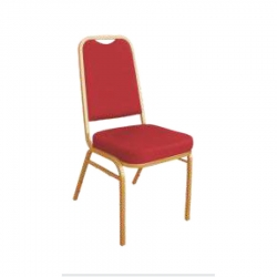 Zaveri chair / Banquet chair / Decorative Chair / Red Color.