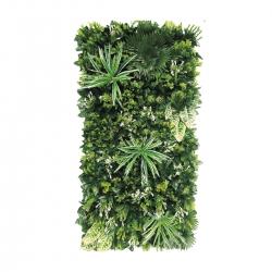 4 FT X 2 FT - Artificial Flowers & Leaf Wall - Flower Decoration - Multi Color