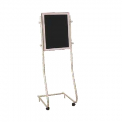 Stainless Steel Welcome Board - Display Board - Black Color for Hotel & Banquet Hall