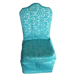 Jeckard Material Chair Cover Very Heavy Quality - Sky Blue Color.